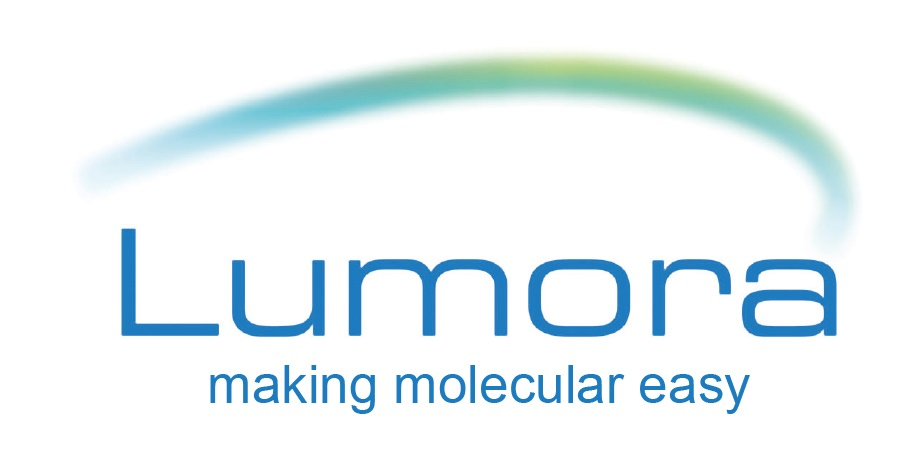 lumora logo with slogan